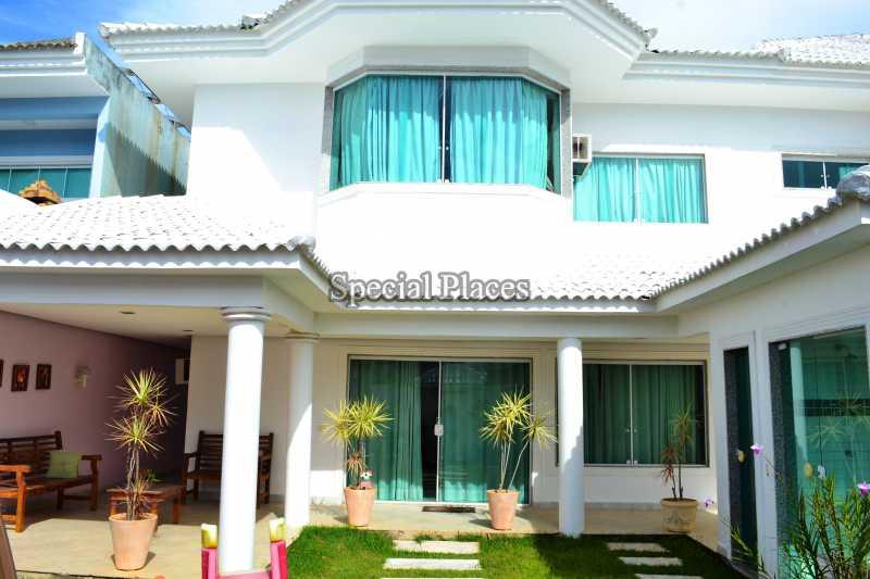 FACHADA - Casa em Condomínio 5 quartos à venda Recreio dos Bandeirantes, Rio de Janeiro - R$ 2.200.000 - BAC5470 - 3