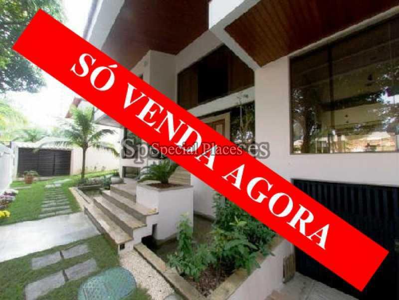 loc1009 - Casa em Condomínio 5 quartos para alugar Barra da Tijuca, Rio de Janeiro - R$ 12.000 - LOC1009 - 1