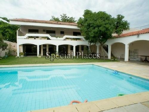 FACHADA INTERNA - Casa em Condomínio 5 quartos para alugar Barra da Tijuca, Rio de Janeiro - R$ 12.000 - LOC1009 - 5