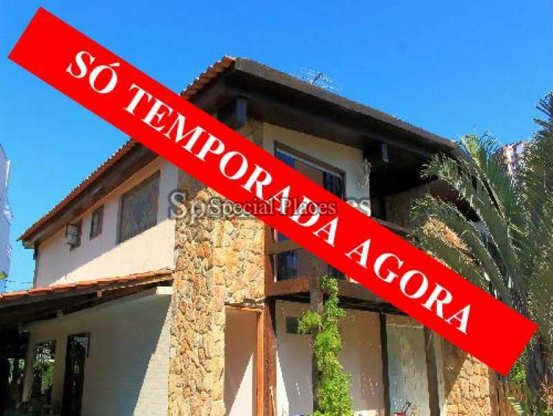 loc1045 - Casa em Condomínio 3 quartos para alugar Barra da Tijuca, Rio de Janeiro - R$ 1.500 - LOC1045 - 1