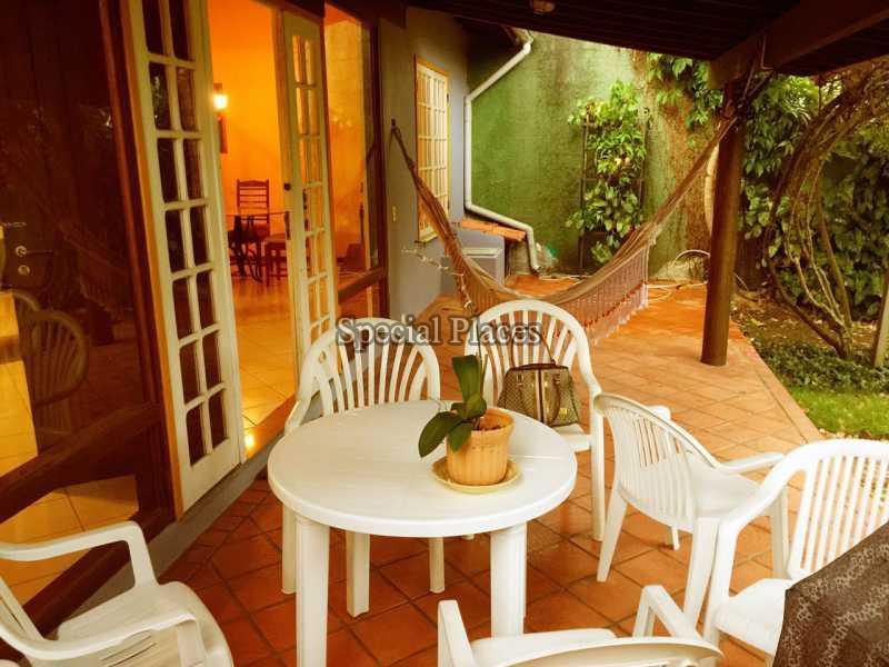VARANDA - Casa para alugar Barra da Tijuca, Rio de Janeiro - R$ 1.000 - LOC1056 - 8