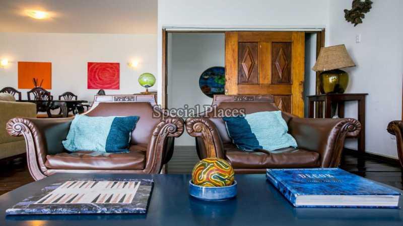 Sala - Casa em Condomínio 8 quartos para alugar São Conrado, Rio de Janeiro - R$ 3.000 - LOC1062 - 11
