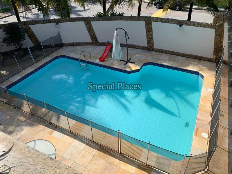 5. vista da piscina