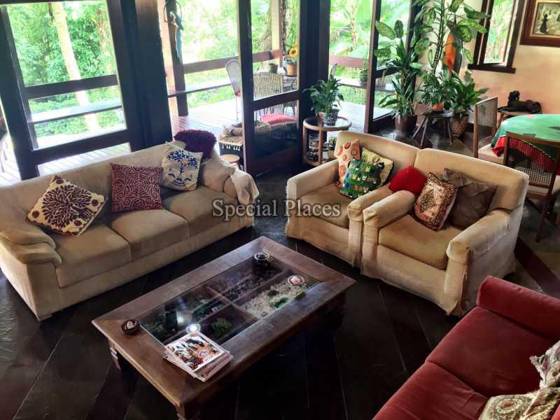 SALA - Casa em Condomínio 5 quartos para alugar Itanhangá, Rio de Janeiro - LOC1069 - 9