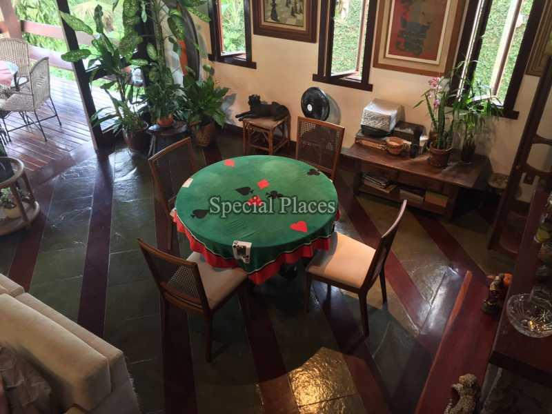 SALA - Casa em Condomínio 5 quartos para alugar Itanhangá, Rio de Janeiro - LOC1069 - 11