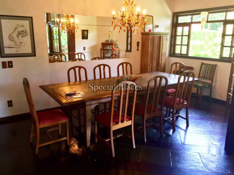 SALA - Casa em Condomínio 5 quartos para alugar Itanhangá, Rio de Janeiro - LOC1069 - 12
