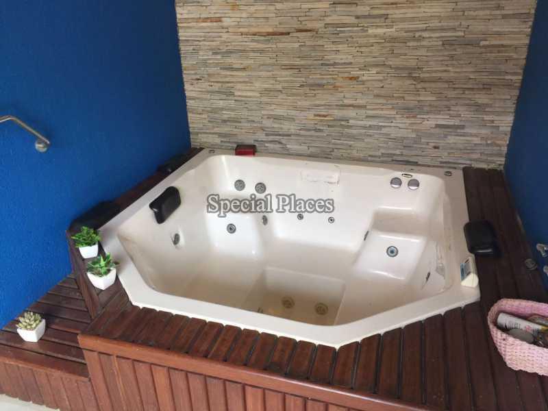 Jacuzzi - Casa em Condomínio 5 quartos para alugar Recreio dos Bandeirantes, Rio de Janeiro - LOC1076 - 9