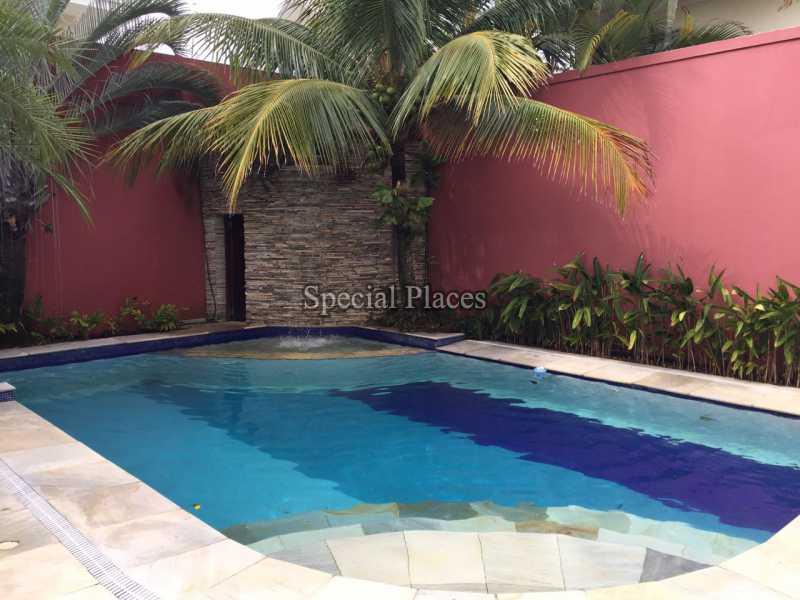Piscina - Casa em Condomínio 5 quartos para alugar Recreio dos Bandeirantes, Rio de Janeiro - LOC1076 - 4