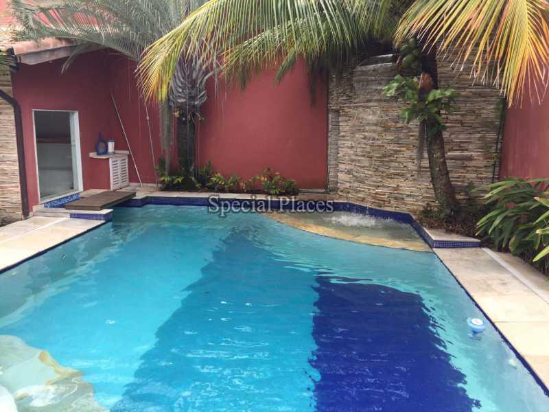Piscina - Casa em Condomínio 5 quartos para alugar Recreio dos Bandeirantes, Rio de Janeiro - LOC1076 - 5