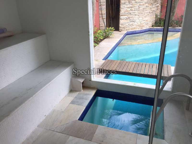 Sauna - Casa em Condomínio 5 quartos para alugar Recreio dos Bandeirantes, Rio de Janeiro - LOC1076 - 6