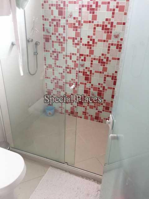 Banheiro Suite - Casa em Condomínio 5 quartos para alugar Recreio dos Bandeirantes, Rio de Janeiro - LOC1076 - 17