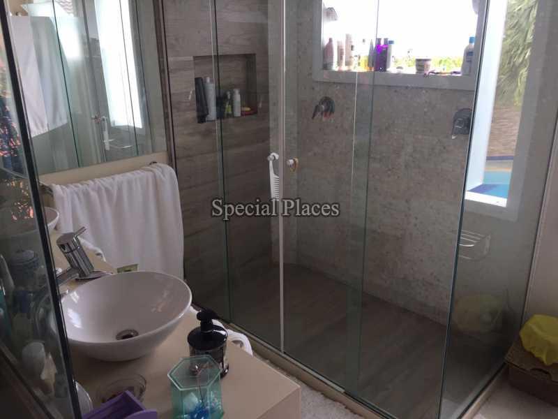 Banheiro Suite - Casa em Condomínio 5 quartos para alugar Recreio dos Bandeirantes, Rio de Janeiro - LOC1076 - 20