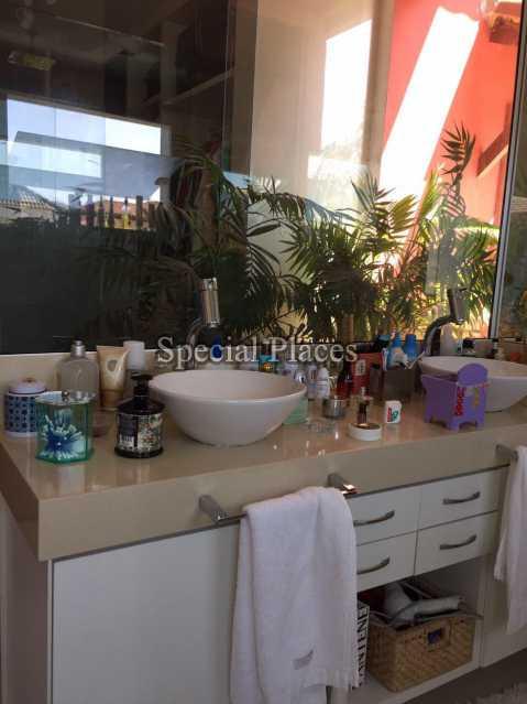 Banheiro Suite - Casa em Condomínio 5 quartos para alugar Recreio dos Bandeirantes, Rio de Janeiro - LOC1076 - 19