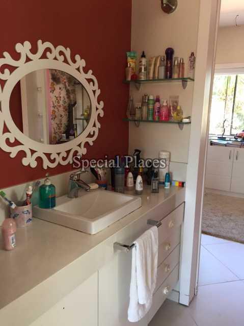 Banheiro Suite - Casa em Condomínio 5 quartos para alugar Recreio dos Bandeirantes, Rio de Janeiro - LOC1076 - 24