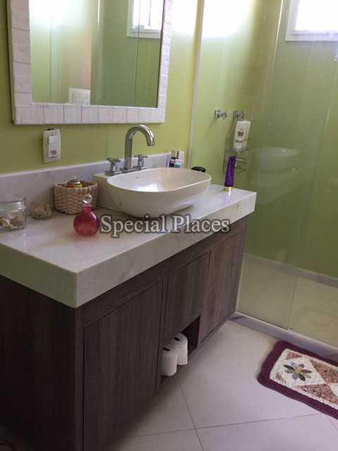 Banheiro Suite - Casa em Condomínio 5 quartos para alugar Recreio dos Bandeirantes, Rio de Janeiro - LOC1076 - 28