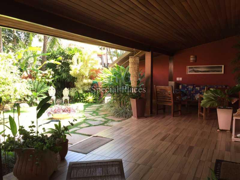 varanda - Casa em Condomínio 5 quartos para alugar Recreio dos Bandeirantes, Rio de Janeiro - LOC1076 - 10