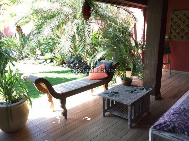 varanda - Casa em Condomínio 5 quartos para alugar Recreio dos Bandeirantes, Rio de Janeiro - LOC1076 - 11