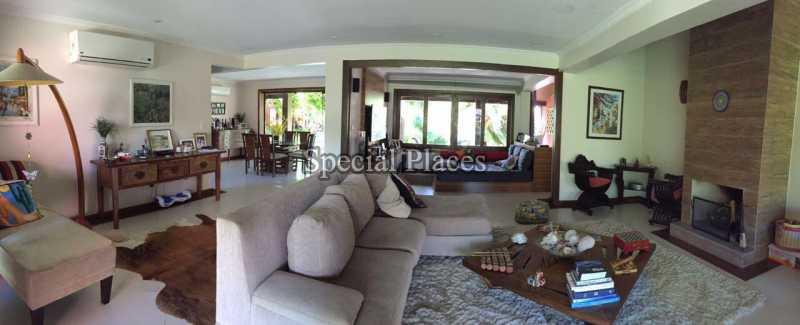 Salão - Casa em Condomínio 5 quartos para alugar Recreio dos Bandeirantes, Rio de Janeiro - LOC1076 - 13