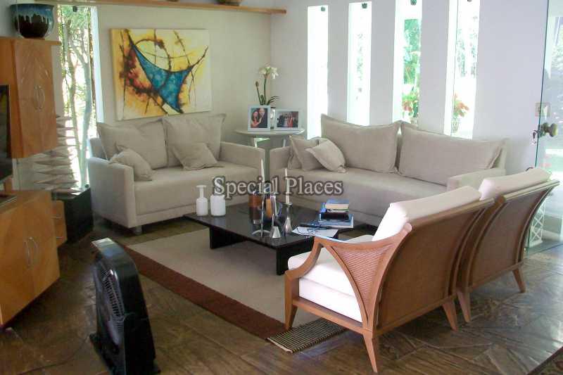 SALA DE ESTAR - Casa 3 quartos à venda Barra da Tijuca, Rio de Janeiro - R$ 2.750.000 - BAC5978 - 13