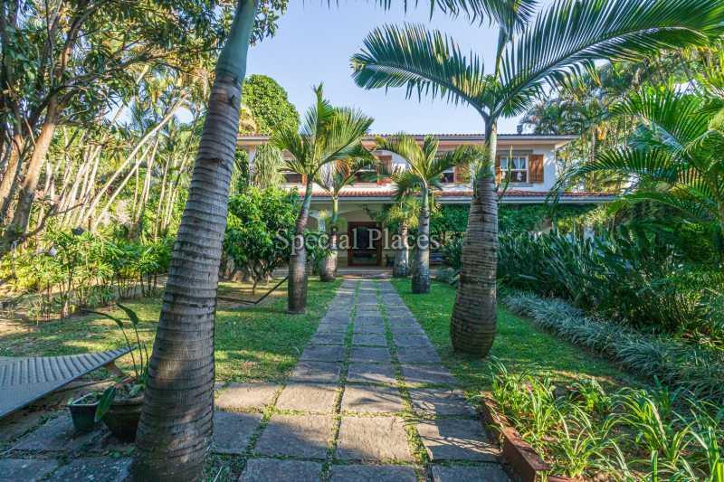 ENTRADA  - Casa em Condomínio 5 quartos à venda Itanhangá, Rio de Janeiro - R$ 5.500.000 - BAC6038 - 3