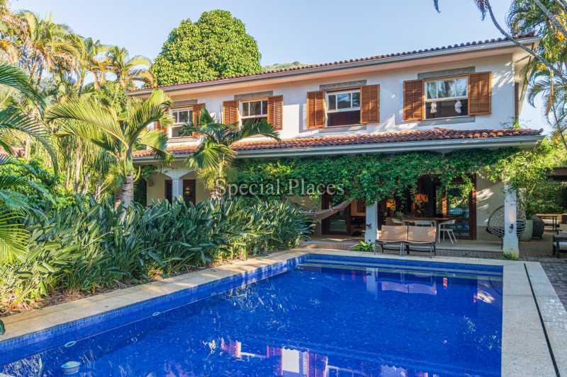 FACHADA  - Casa em Condomínio 5 quartos à venda Itanhangá, Rio de Janeiro - R$ 5.500.000 - BAC6038 - 1