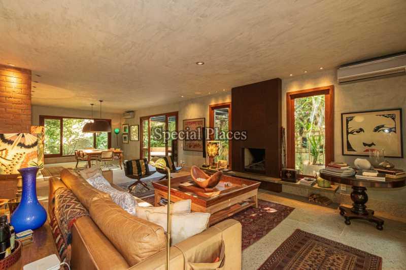 SALÃO  - Casa em Condomínio 5 quartos à venda Itanhangá, Rio de Janeiro - R$ 5.500.000 - BAC6038 - 10
