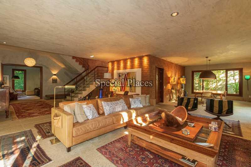 SALÃO  - Casa em Condomínio 5 quartos à venda Itanhangá, Rio de Janeiro - R$ 5.500.000 - BAC6038 - 13