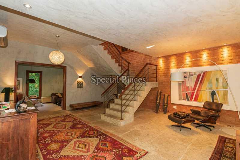 SALÃO  - Casa em Condomínio 5 quartos à venda Itanhangá, Rio de Janeiro - R$ 5.500.000 - BAC6038 - 12