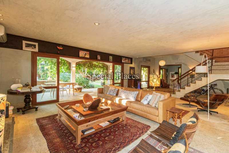 SALÃO  - Casa em Condomínio 5 quartos à venda Itanhangá, Rio de Janeiro - R$ 5.500.000 - BAC6038 - 11