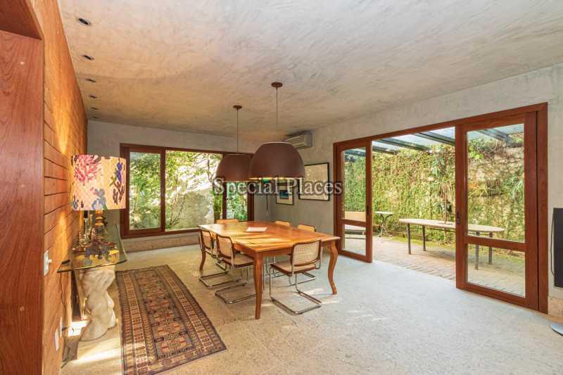 SALA DE JANTAR  - Casa em Condomínio 5 quartos à venda Itanhangá, Rio de Janeiro - R$ 5.500.000 - BAC6038 - 16