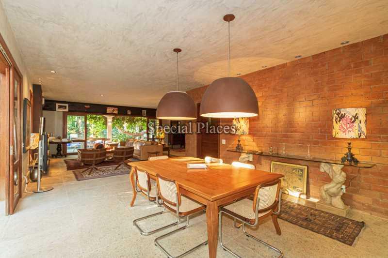 SALA DE JANTAR  - Casa em Condomínio 5 quartos à venda Itanhangá, Rio de Janeiro - R$ 5.500.000 - BAC6038 - 17
