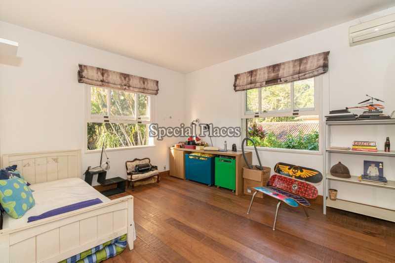SUÍTE  - Casa em Condomínio 5 quartos à venda Itanhangá, Rio de Janeiro - R$ 5.500.000 - BAC6038 - 28