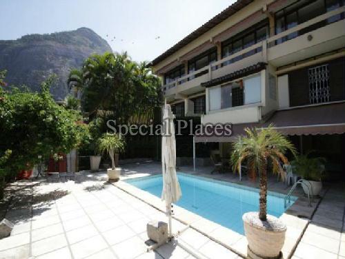 FACHADA - Casa em Condomínio 4 quartos à venda Joá, Rio de Janeiro - R$ 4.200.000 - BAC2414 - 1