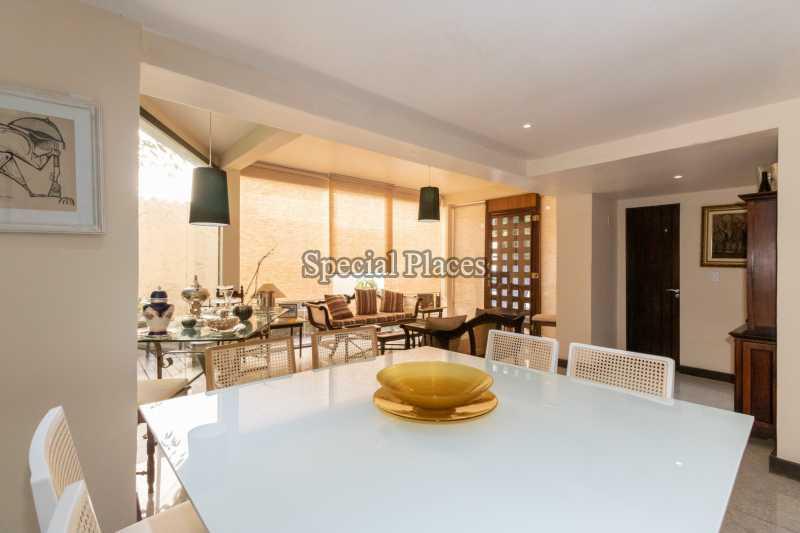 SALA DE JANTAR - Casa 5 quartos para alugar São Conrado, Rio de Janeiro - R$ 3.500 - LOC1194 - 11