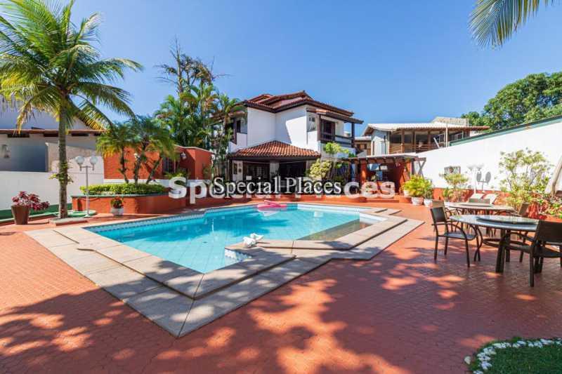 1 - Casa em Condomínio 5 quartos à venda Barra da Tijuca, Rio de Janeiro - R$ 5.500.000 - BAC2425 - 1