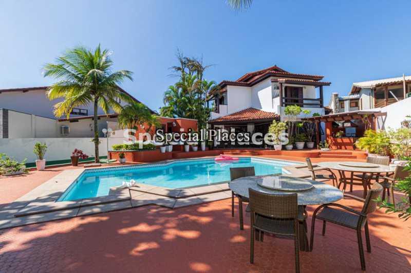 3 - Casa em Condomínio 5 quartos à venda Barra da Tijuca, Rio de Janeiro - R$ 5.500.000 - BAC2425 - 4