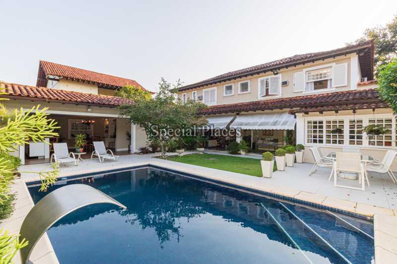FACHADA  - Casa em Condomínio 4 quartos à venda Itanhangá, Rio de Janeiro - R$ 4.500.000 - BAC6206 - 1