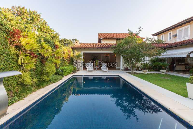 PISCINA  - Casa em Condomínio 4 quartos à venda Itanhangá, Rio de Janeiro - R$ 4.500.000 - BAC6206 - 3