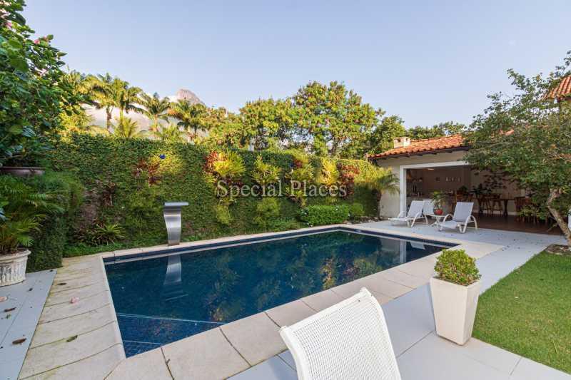 PISCINA  - Casa em Condomínio 4 quartos à venda Itanhangá, Rio de Janeiro - R$ 4.500.000 - BAC6206 - 4