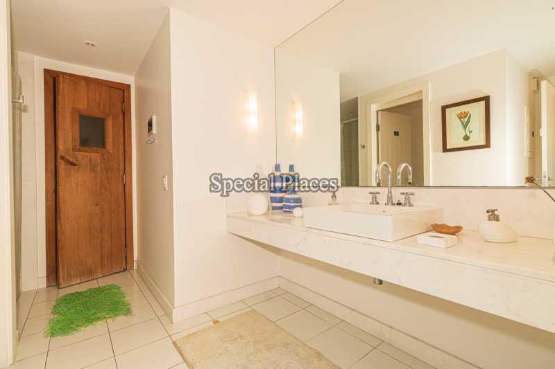 BANHEIRO ESPAÇO GOURMET - Casa em Condomínio 4 quartos à venda Itanhangá, Rio de Janeiro - R$ 4.500.000 - BAC6206 - 9
