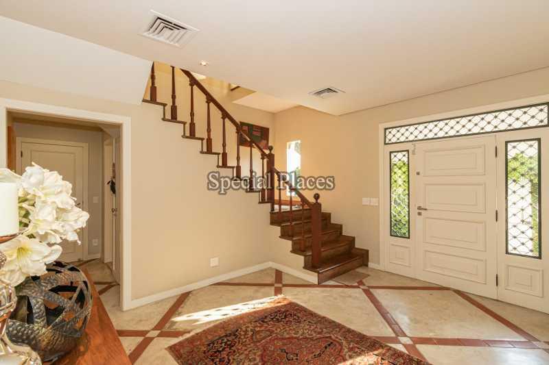 HALL - Casa em Condomínio 4 quartos à venda Itanhangá, Rio de Janeiro - R$ 4.500.000 - BAC6206 - 10