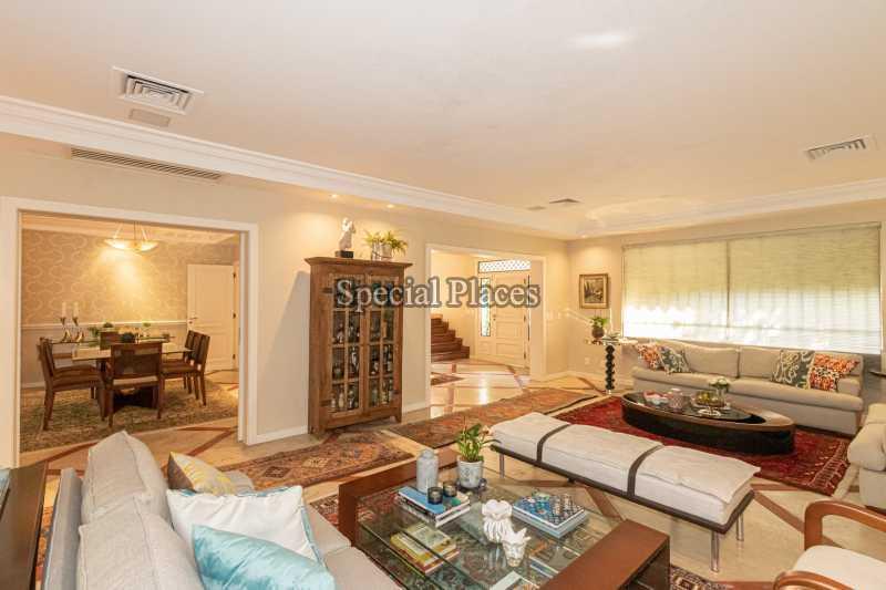 SALÃO  - Casa em Condomínio 4 quartos à venda Itanhangá, Rio de Janeiro - R$ 4.500.000 - BAC6206 - 11