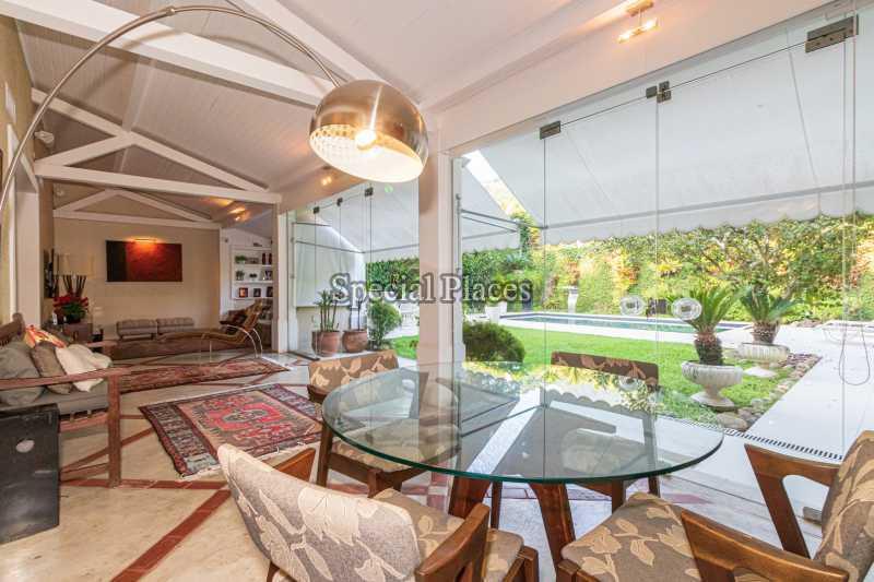 SALÃO  - Casa em Condomínio 4 quartos à venda Itanhangá, Rio de Janeiro - R$ 4.500.000 - BAC6206 - 12