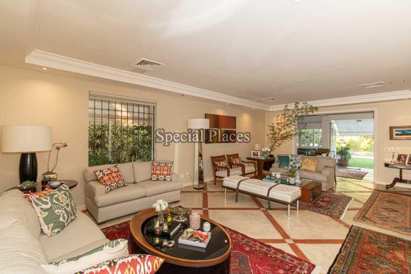 SALÃO  - Casa em Condomínio 4 quartos à venda Itanhangá, Rio de Janeiro - R$ 4.500.000 - BAC6206 - 13