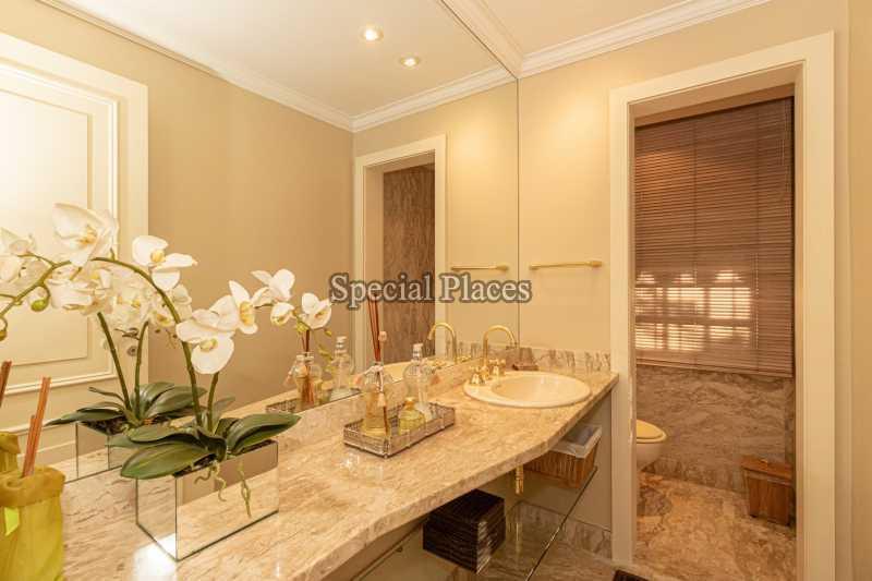 LAVABO  - Casa em Condomínio 4 quartos à venda Itanhangá, Rio de Janeiro - R$ 4.500.000 - BAC6206 - 16