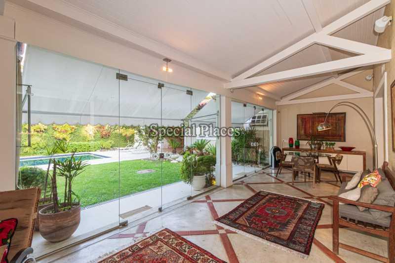 VARANDA  - Casa em Condomínio 4 quartos à venda Itanhangá, Rio de Janeiro - R$ 4.500.000 - BAC6206 - 18