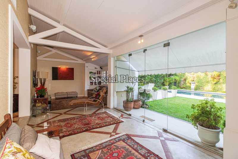 VARANDA - Casa em Condomínio 4 quartos à venda Itanhangá, Rio de Janeiro - R$ 4.500.000 - BAC6206 - 19