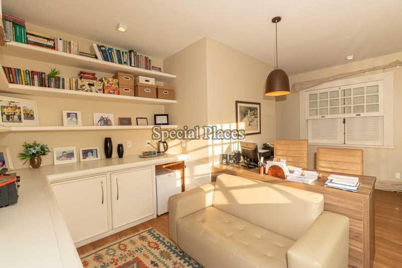 ESCRITÓRIO - Casa em Condomínio 4 quartos à venda Itanhangá, Rio de Janeiro - R$ 4.500.000 - BAC6206 - 22