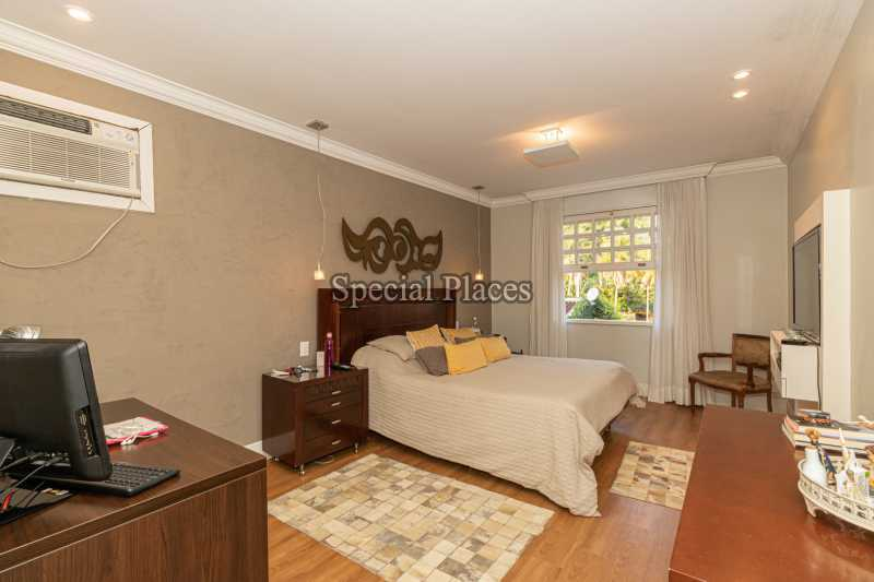 SUÍTE MASTER  - Casa em Condomínio 4 quartos à venda Itanhangá, Rio de Janeiro - R$ 4.500.000 - BAC6206 - 25