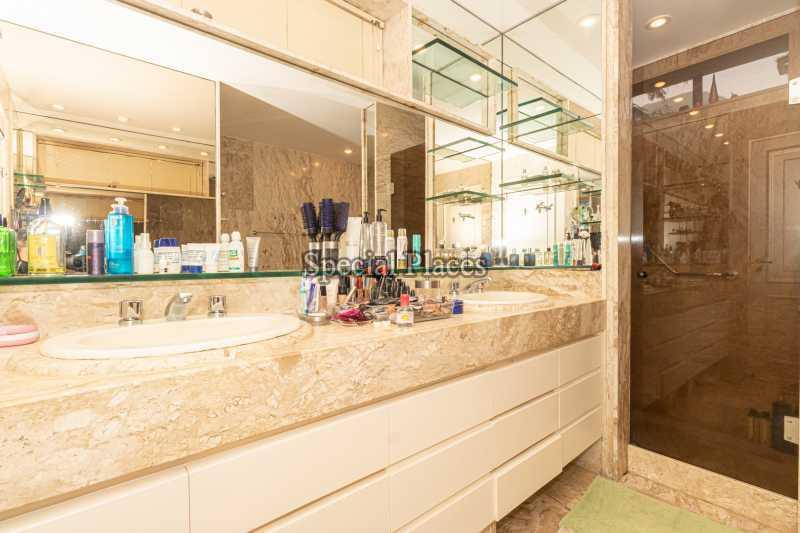 BANHEIRO SUÍTE MASTER  - Casa em Condomínio 4 quartos à venda Itanhangá, Rio de Janeiro - R$ 4.500.000 - BAC6206 - 26